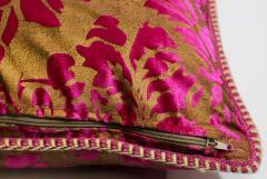 Moorish Oversized Pink and Gold Floor Pillow Cushion - 1829913