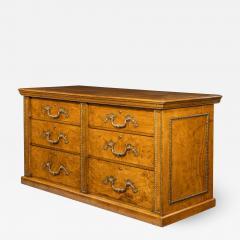 Morel and Seddon A fine George IV burr oak chest of drawers in the manner of Morel and Seddon - 1785414