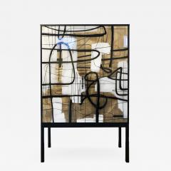 Morgan Clayhall Abstract Enamel - 1354344
