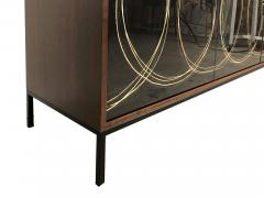 Morgan Clayhall Gold Loop Cabinet - 1355634