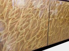 Morgan Clayhall The Gold Graffiti Cabinet by Morgan Clayhall - 1352370