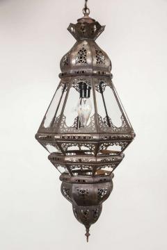 Moroccan Clear Glass Lantern - 338416
