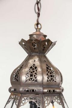 Moroccan Clear Glass Lantern - 338418