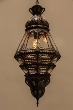 Moroccan Clear Glass Lantern - 338419