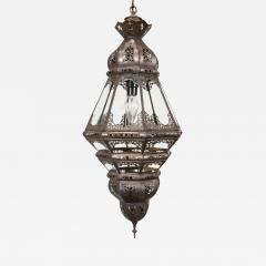 Moroccan Clear Glass Lantern - 339179