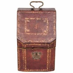 Morocco Hide Knife Box - 1476667