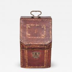 Morocco Hide Knife Box - 1476839