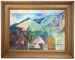 Morris M Shulman Monhegan Village Abstraction - 1307374