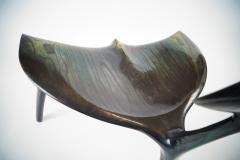 Morten Stenbaek Art Whale Chair MS82 Handcrafted and Designed by Morten Stenbaek - 887845