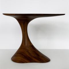 Morten Stenbaek Sculptural Solid Walnut Pedem Side Table Morten Stenbaek - 1053625