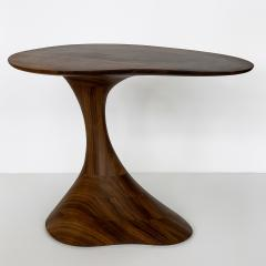 Morten Stenbaek Sculptural Solid Walnut Pedem Side Table Morten Stenbaek - 1053626