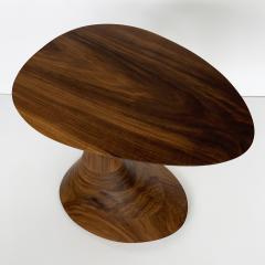 Morten Stenbaek Sculptural Solid Walnut Pedem Side Table Morten Stenbaek - 1053629