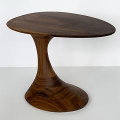 Morten Stenbaek Sculptural Solid Walnut Pedem Side Table Morten Stenbaek - 1053630