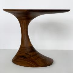 Morten Stenbaek Sculptural Solid Walnut Pedem Side Table Morten Stenbaek - 1053631
