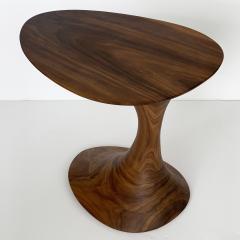 Morten Stenbaek Sculptural Solid Walnut Pedem Side Table Morten Stenbaek - 1053632
