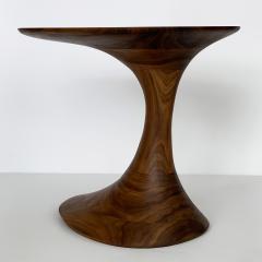 Morten Stenbaek Sculptural Solid Walnut Pedem Side Table Morten Stenbaek - 1053634