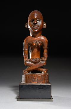 Mother and Child Figure Phemba Kongo DRC beginning 20th C - 2024101