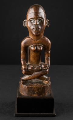 Mother and Child Figure Phemba Kongo DRC beginning 20th C - 2024102