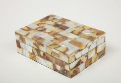 Mother of Pearl Decorative Box - 1173290