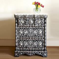 Mother of pearl side cabinet - 1218204
