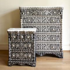 Mother of pearl side cabinet - 1218209
