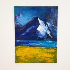 Mountain Scene American Circa 1950 - 1649935