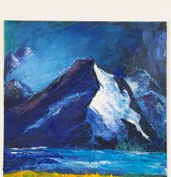 Mountain Scene American Circa 1950 - 1649936