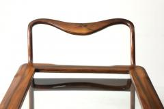 Moveis Teperman Mid Century Modern Three Tier Tea Cart by Teperman Manufacture Brazil 1950s - 1388369