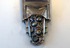 Muller Fr res Beautiful Pair of French Art Deco Sconces Signed Muller Fr res Luneville - 1835278