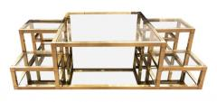 Multi Level Brass Coffee Table Italy 1960s - 848309