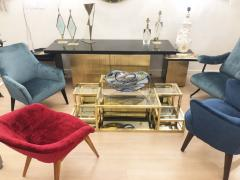 Multi Level Brass Coffee Table Italy 1960s - 848313