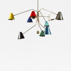 Multicolored Chandelier France 2019 - 1180851