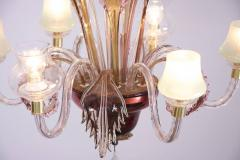 Multicolored Venetian Murano Glass Chandelier - 550232