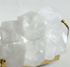 Multifaceted Rock Crystal Sconces by Phoenix - 2074207