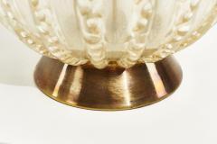 Murano Barbini Controlled Bubble Table Lamp Italy 1950 - 1960062