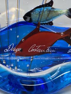 Murano Glass Aquarium by Costantini - 2123282