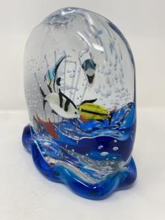 Murano Glass Aquarium by Costantini - 2123284