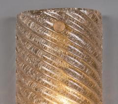 Murano Glass Ridged Wall Sconces - 632304