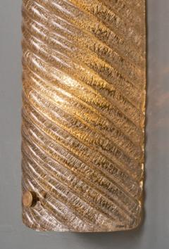 Murano Glass Ridged Wall Sconces - 632307