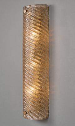 Murano Glass Ridged Wall Sconces - 632310