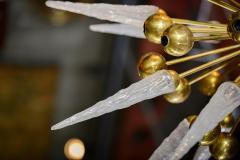 Murano Half Sputnik Chandelier - 375930