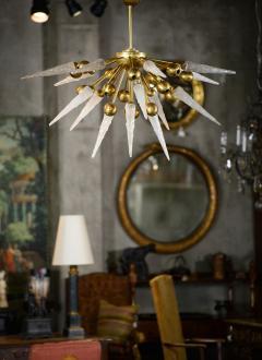 Murano Half Sputnik Chandelier - 375938