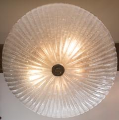 Murano Icy Opaque Ceiling Fixture Contemporary - 1127968
