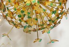 Murano Luxury Glass Murano Glass Butterfly Sputnik Chandelier - 756182
