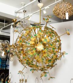 Murano Luxury Glass Murano Glass Butterfly Sputnik Chandelier - 756184