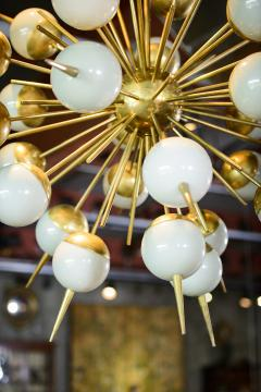 Murano Smokey Glass Globes Sputnik Chandelier - 376771