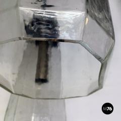 Murano glass three light chandelier 1970s - 2034997