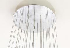 Murano pulegoso glass chandelier 1960s - 1912827