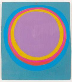 Murray Hantman Abstract Painting USA 1960s - 1697042