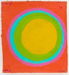 Murray Hantman Abstract Painting USA 1960s - 1697053